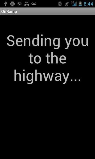 OnRamp -- Navigate To Highway