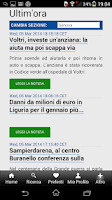 Screenshot of Il Secolo XIX Edicola Digitale