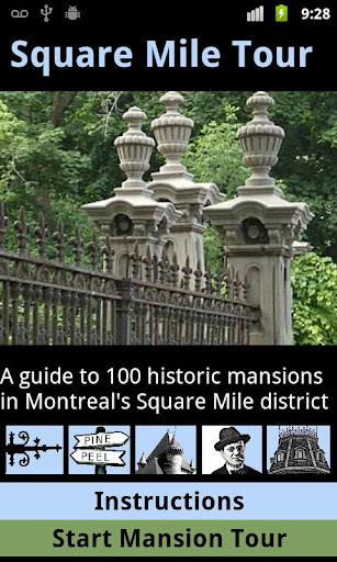 Montreal Square Mile Mansions