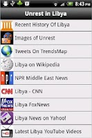 Screenshot of Unrest In Libya