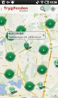 Screenshot of Trygfonden Hjertestart