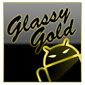 GOKeyboard Theme Glassy Gold icon