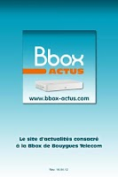 Screenshot of Bbox Actus