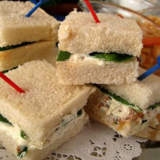 Spinach Tea Sandwiches