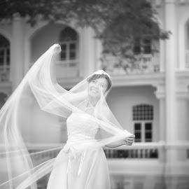 by Choong Kooi Chin - Wedding Bride