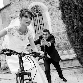 by Cristi Florea - Wedding Bride & Groom