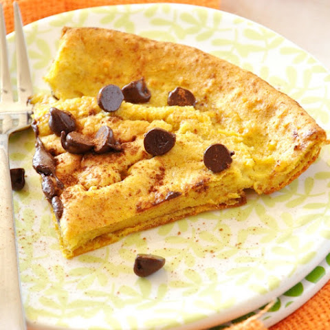 Pumpkin Chocolate Chip Dutch Baby