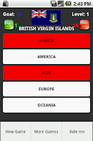 Screenshot of World Flags Quiz