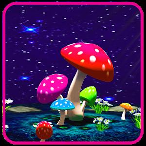 3d mushroom live wallpaper apk download