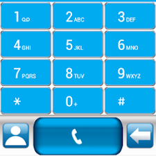 THEME BLUE GLASS FOR EXDIALER