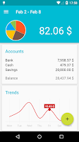 Screenshot of Financius - Expense Manager