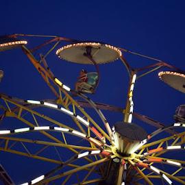 County Fair by Beth Kruskamp - City,  Street & Park  Amusement Parks
