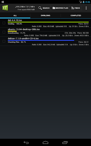 torrent files free download android