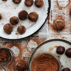 Salted Caramel and Whiskey Truffles