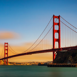 Golden Gate by Jun Robato - Buildings & Architecture Bridges & Suspended Structures ( california, golden gate, bridges, san francisco, structures )