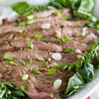 Korean Barbecue Flank Steak