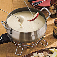 Two-Cheese-and-Honey Fondue