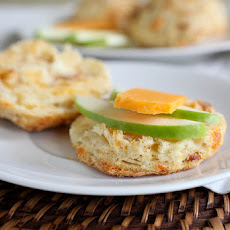 Apple Cheddar Biscuits