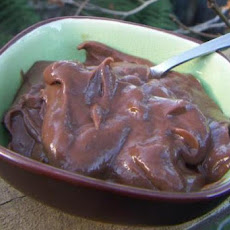 Thick Chocolate Pudding