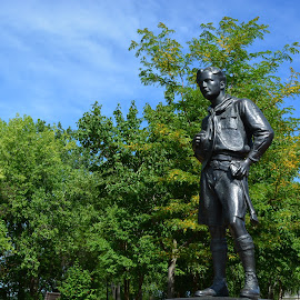 On My Honor by Michael Anderson - Buildings & Architecture Statues & Monuments