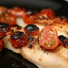 Fish Fillets With Feta and Tomatoes