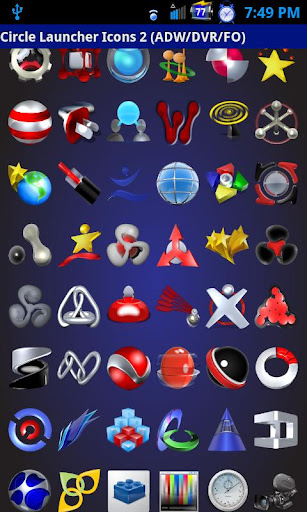 Circle Launcher Icons 2 ADW FO