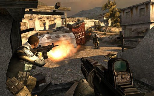 Modern Combat 3: Fallen Nation game for Android screenshot