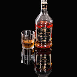Black Napoleon by Renata Horáková - Food & Drink Alcohol & Drinks ( alcohol, cognac,  )