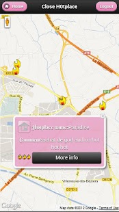 H0tplaces, check my hotplaces - screenshot