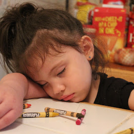Sleeping Beauty by Tammy Jones Perdue - Babies & Children Children Candids ( child, girl, sleeping,  )