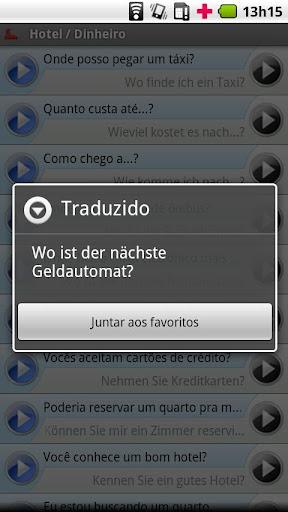 【免費旅遊App】iSayHello 葡萄牙语/拉丁语 - 德语-APP點子