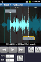 Screenshot of Ringtone Maker and MP3 cutter