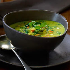 Curry and Coconut Milk Soup