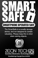 Screenshot of SmartSafe