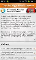 Screenshot of Learn Yoga