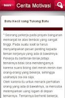 Screenshot of Cerita Motivasi Indonesia