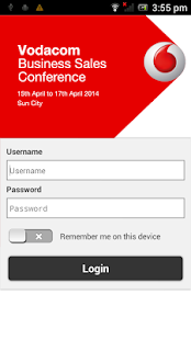 Vodacom Business Conference - screenshot
