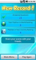 Screenshot of World Intelligence Contest