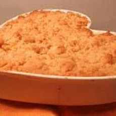 Cuban Mango and Apple Crumble