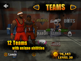 Screenshot of Jam City Basketball