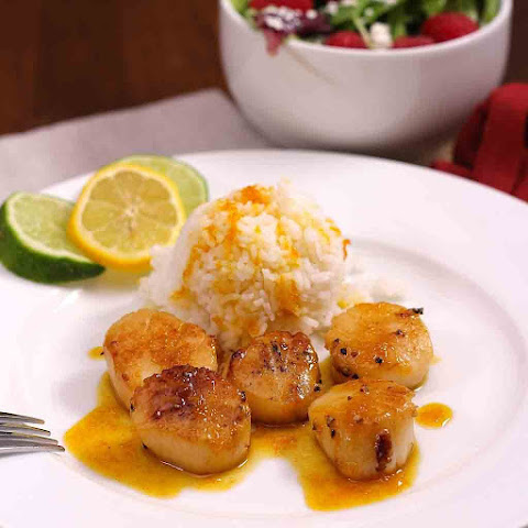 Scallops With Orange Sauce
