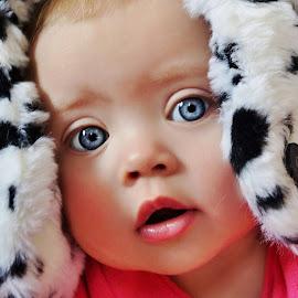 Dalmation Hat by Cheryl Korotky - Babies & Children Child Portraits (  )