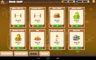 Screenshot of Dino Land