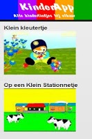 Screenshot of Kinderliedjes met video's