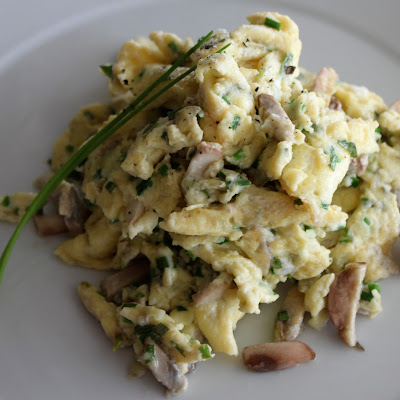 Fresh Herbs & Parmesan Scrambled Eggs