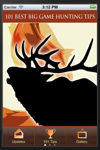 101 Best Big Game Hunting Tips