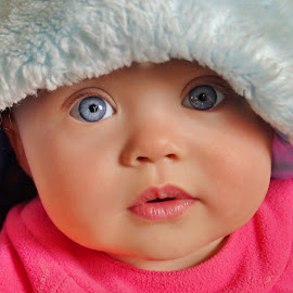 Bright Eyed Blue by Cheryl Korotky - Babies & Children Child Portraits (  )