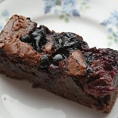 Black Forest Berry Brownies