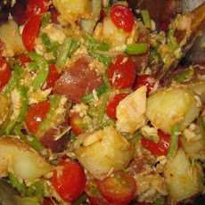 Tuna and Potato Salad a La Espanola