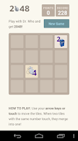 Screenshot of 2048 Dr Who Puzzle.